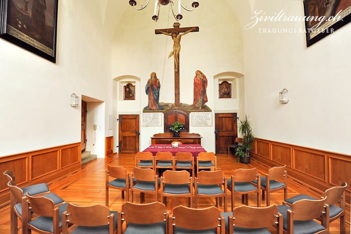Kapuziner church, ceremony room