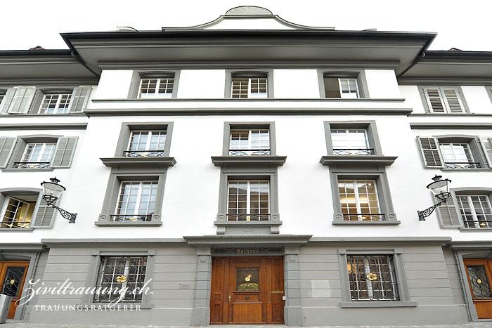 The Rathaus of Bremgarten