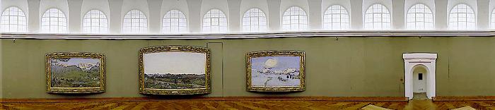 Segantini Museum - Panoramabild vom Kuppelsaal