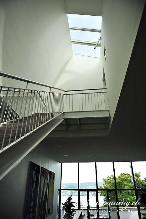 The airy and bright staircase